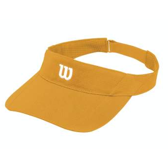 Wilson Rush Knit Ultralight Visor orange