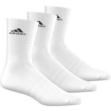Adidas Performance Crew Sock 3 Pack white