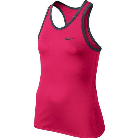Nike Girls Advantage Court Tank fuschia