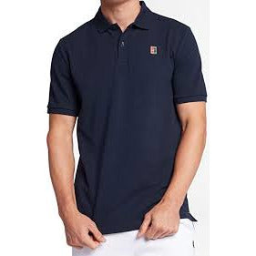Nike Court Mens Polo Heritage obsidian/white