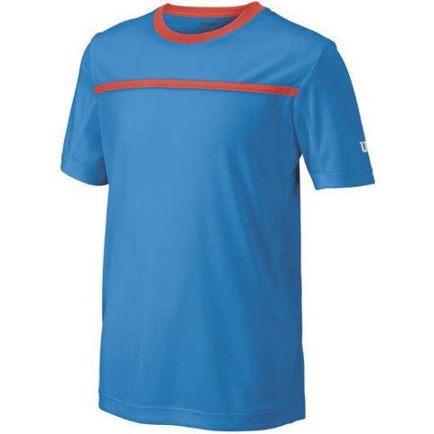 Wilson Boys Team Crew blue/coral