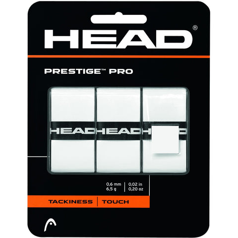 Head Prestige Pro Overgrip 3 Pack white