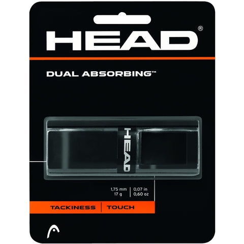 Head Dual Absorbing Replacement Grip black