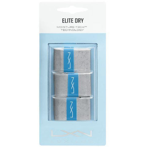 Luxilon Elite Dry Overgrip 3 Pack