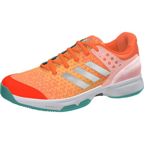 Adidas Womens adizero Ubersonic 2 orange/blue