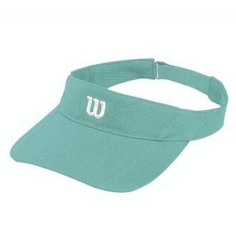 Wilson Rush Knit Ultralight Visor aruba blue