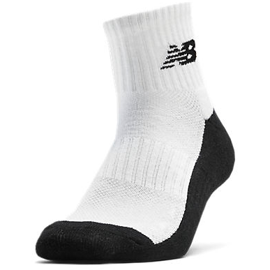 New Balance Triumph Quarter Sock white