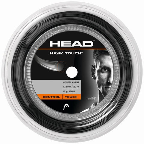 Head Hawk Touch 125 Black 120m