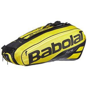 Babolat Pure Aero 6 Pack Racquet Bag yellow/black