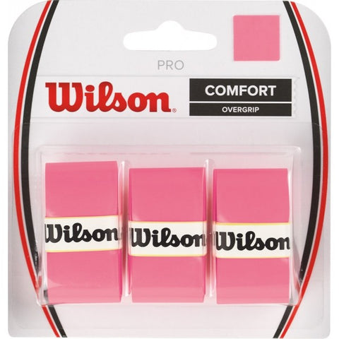 Wilson Pro Overgrip 3 Pack pink