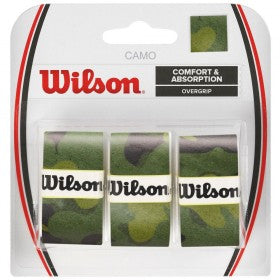 Wilson Overgrip 3 pack camo green