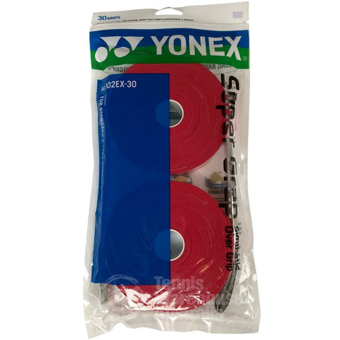 Yonex Super Grap Overgrip 30 Pack red