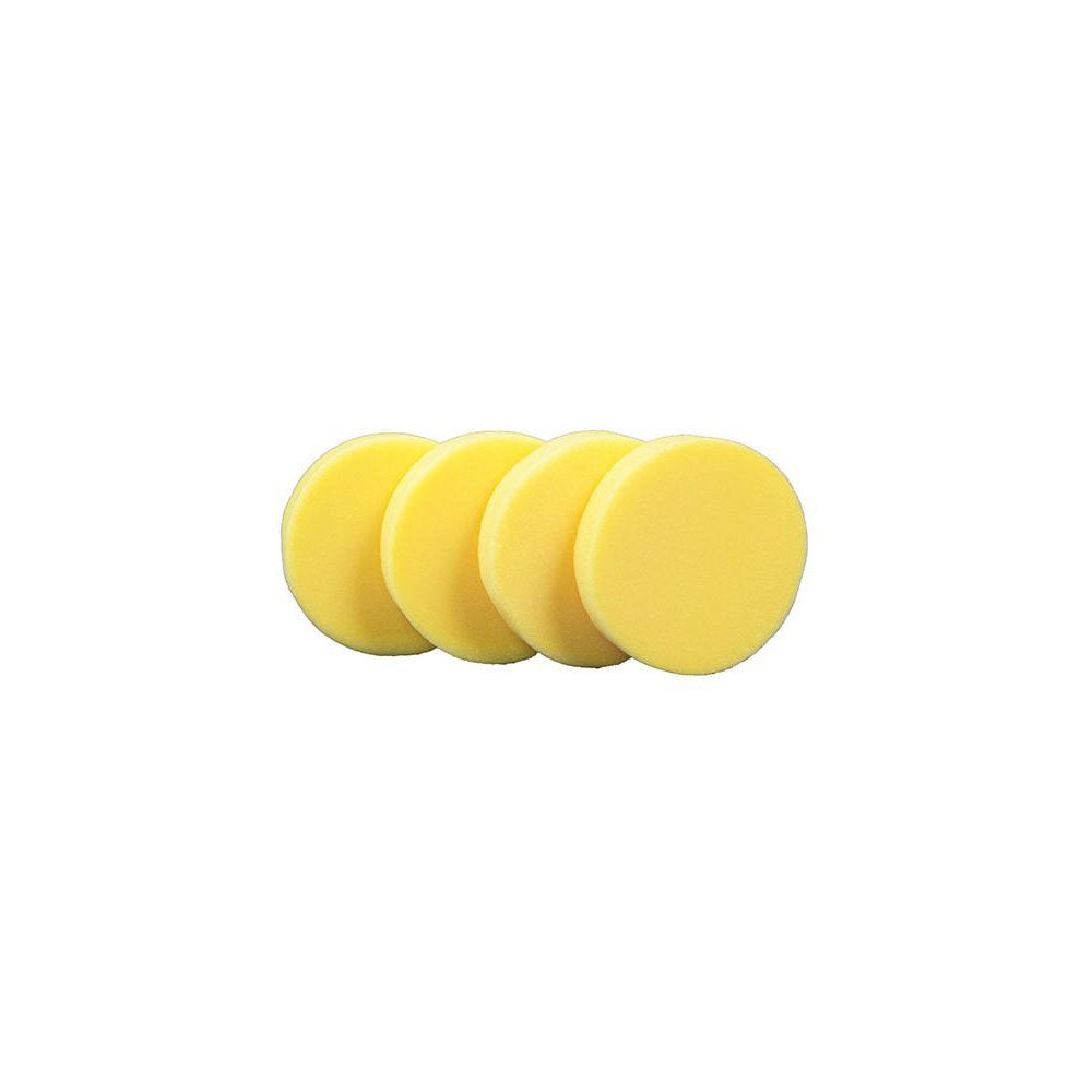 Yellow Foam Hand Applicator Pads