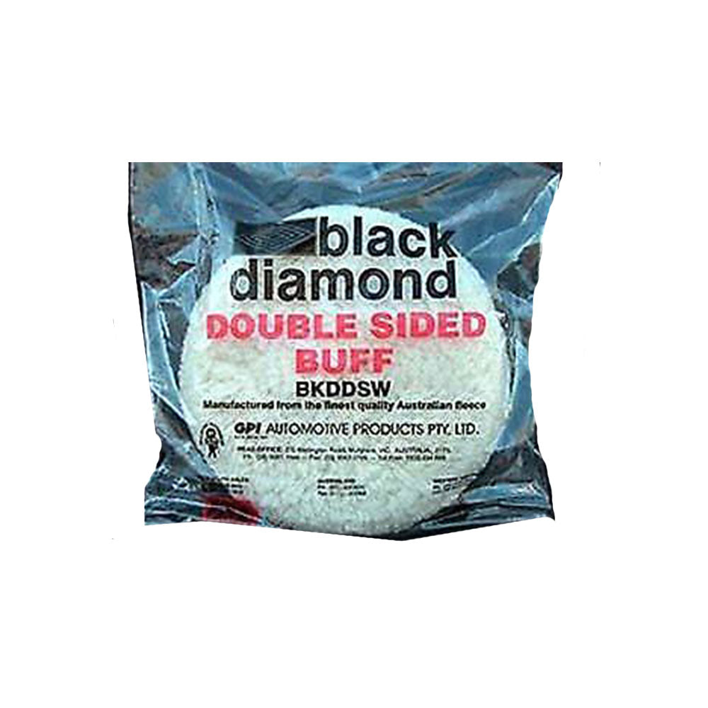 Black Diamond Double Sided Wool Buff Pad 215mm