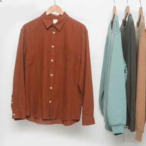 Indivita Hemp Long Sleeve Shirt - Brown