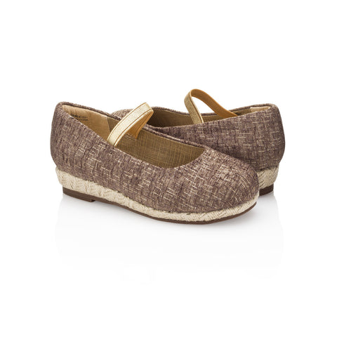 Carmen Jr Beige Wedge