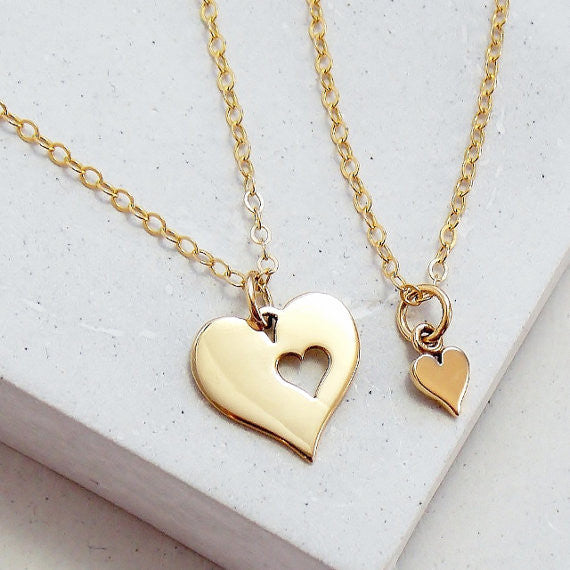 Heart Necklace Set - meNmommy.com  - 1