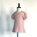 Amber T-Shirt Dress Jr. - in Rose Pink - meNmommy.com  - 1