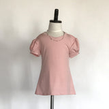 Amber T-Shirt Dress Jr. - in Rose Pink - meNmommy.com  - 3