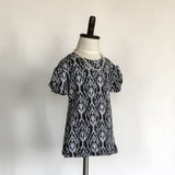 Amber T-Shirt Dress Jr. - Black and White - meNmommy.com  - 1