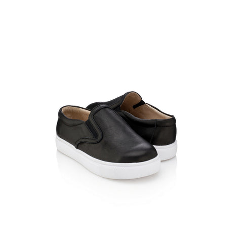Joyce Slip-On Sneakers - Jet Black
