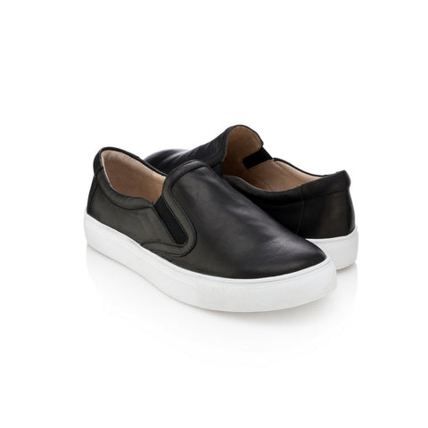 Joyce Jr Slip-On Sneakers - Jet Black
