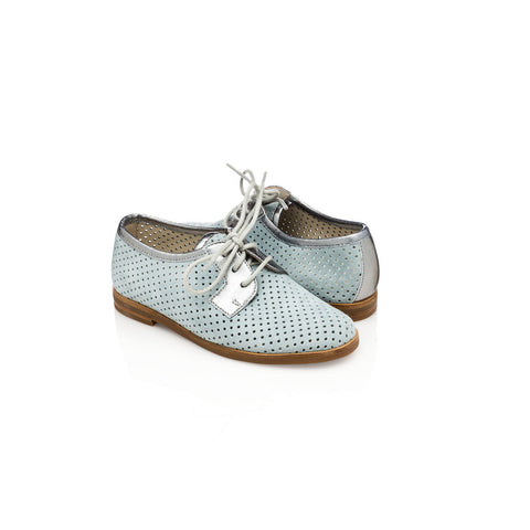 Lesly Jr Oxford - Serenity Blue