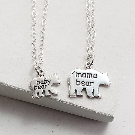 Mama Bear Necklace Set - meNmommy.com  - 1