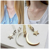 Moon and Star Necklace Set - meNmommy.com  - 3