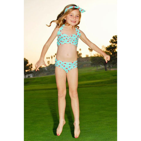 Minty Fruity Jr Bikini