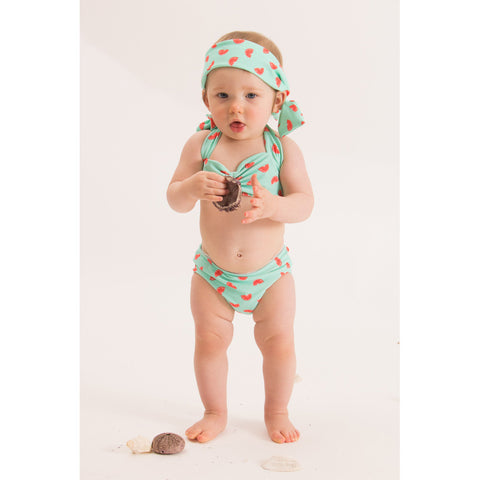 Minty Fruity Mini Bikini
