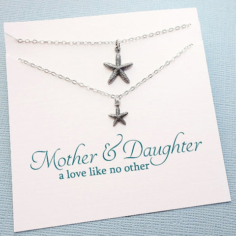 Starfish Necklace Set