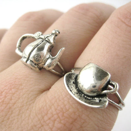 Tea Time Ring Set
