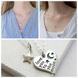 Love You To The Moon Heart Set - meNmommy.com  - 3