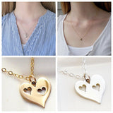 Triple Heart Necklace Set - meNmommy.com  - 3