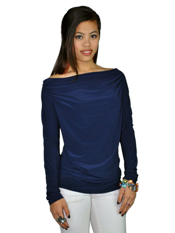 Sophia Navy Top