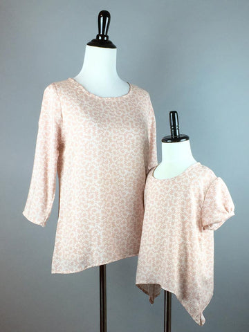 Brianna Beige Top Jr