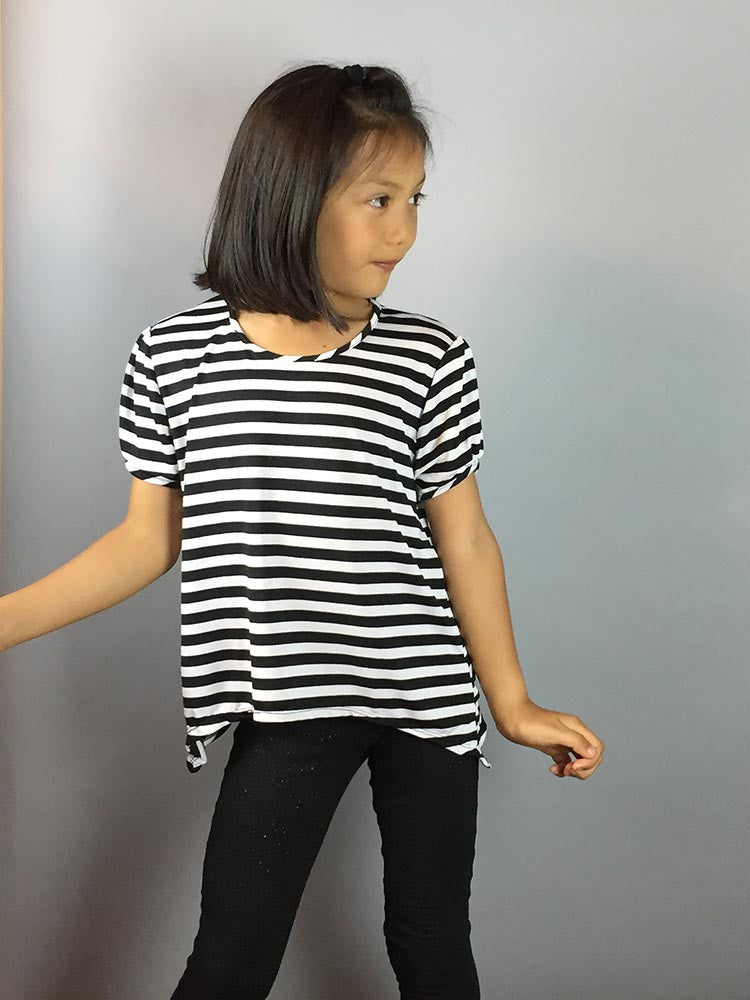 Brianna Stripe Top Jr - meNmommy.com  - 1