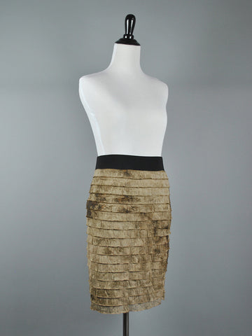 Chloe Charcoal Skirt