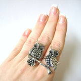 Twin Owl Rings - meNmommy.com  - 2
