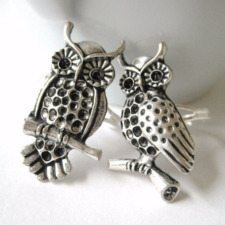 Twin Owl Rings - meNmommy.com  - 1