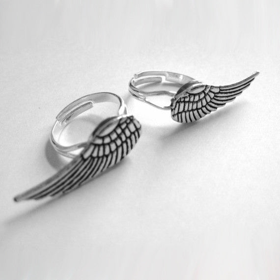 Best Friend Wing Ring Set - meNmommy.com  - 1