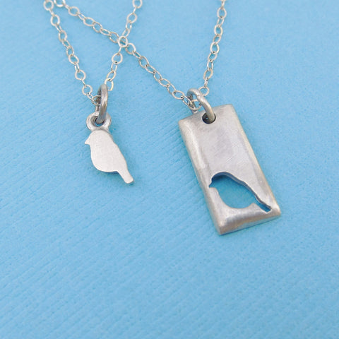 Little Bird Necklace Set