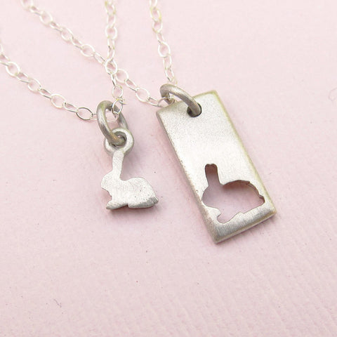 Little Bunny Necklace Set