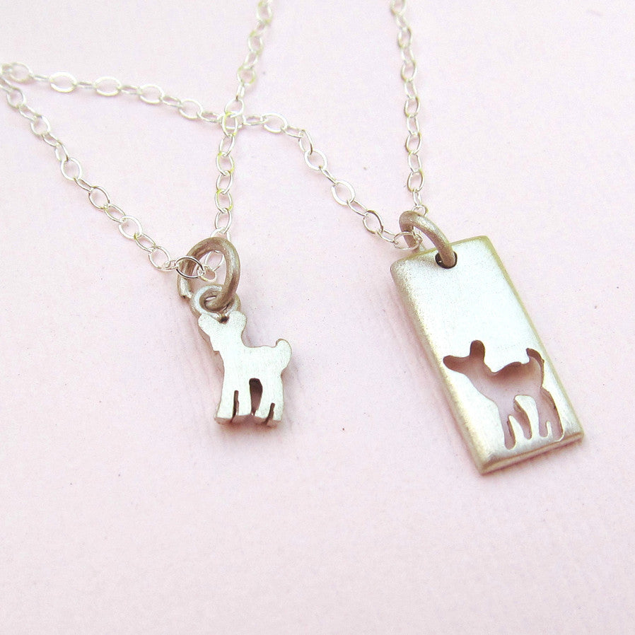 Little Fawn Necklace Set - meNmommy.com