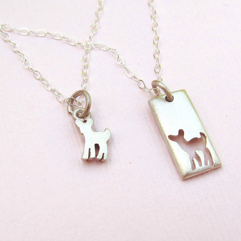 Little Fawn Necklace Set