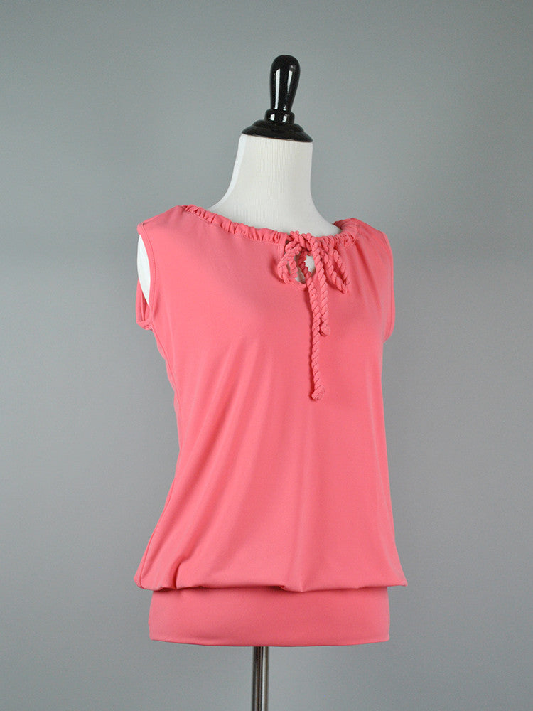 Madison Coral Blouse - meNmommy.com  - 1