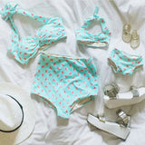 Minty Fruity High Waist Bikini - meNmommy.com  - 2