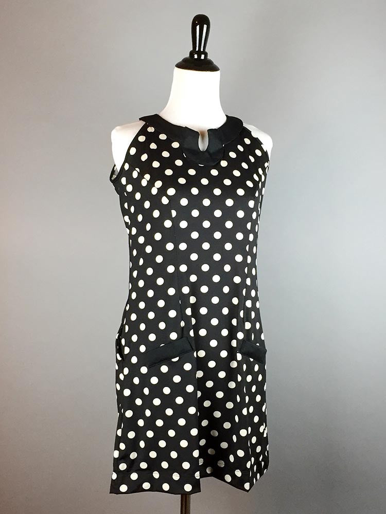 Amaranth Polka Dot Dress - meNmommy.com  - 1
