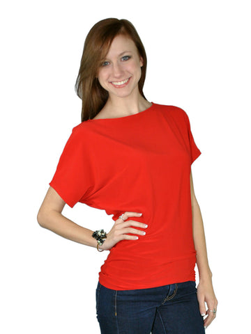 Madison Coral Blouse Jr